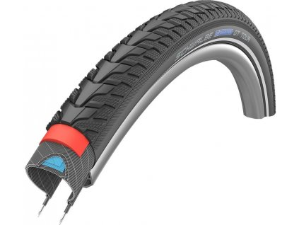 Schwalbe plášť Marathon GT Tour 47-622 DualGuard černá+reflexní pruh