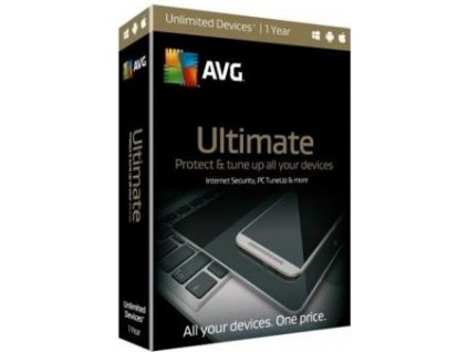AVG Ultimate for Windows 1 PC, 1 rok, elektronicky