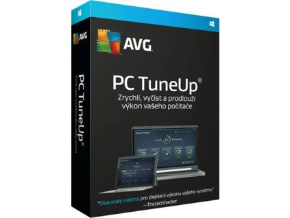 AVG PC TuneUp - 2 PCs, 1 rok, elektronicky