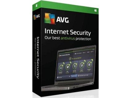 AVG Internet Security - 3 PCs, 1 rok, elektronicky