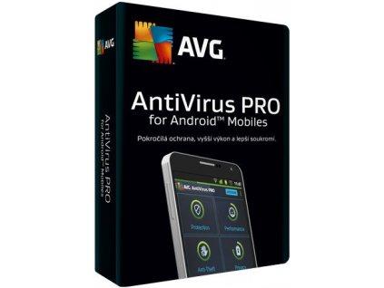 AVG Antivirus Pro for Android  1 Device, 1 rok, elektronicky