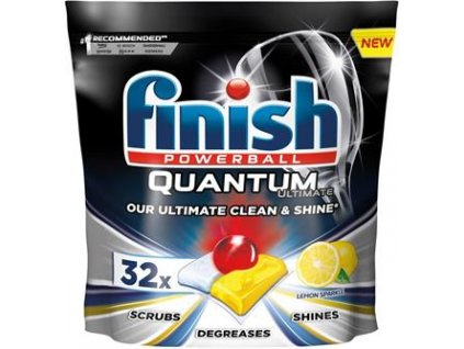 Finish Quantum Ultimate Lemon Sparkle 32 ks