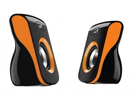 Genius SP-Q180 černo-oranžové