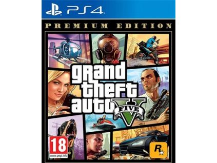 PS4 - Grand Theft Auto V - Premium Edition