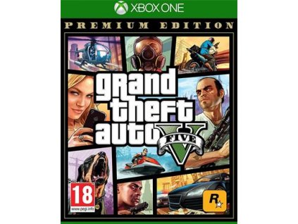 Xbox One - Grand Theft Auto V - Premium Edition