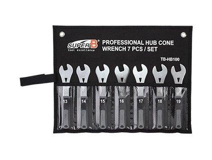 SuperB - TB-HB100 - Sada profi kónusových klíčů