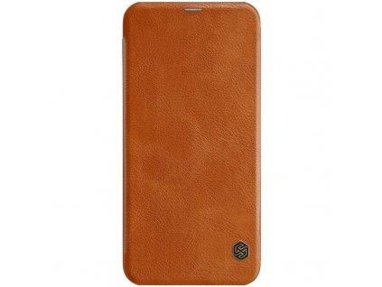 Nillkin Qin Book Pouzdro pro Samsung J610 Galaxy J6+, Brown - Hnědé