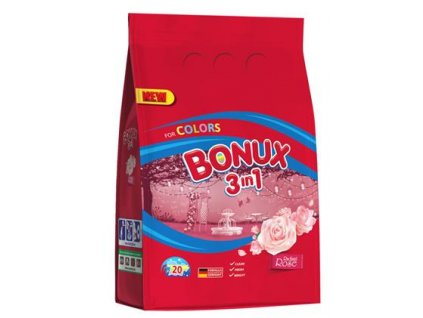 Bonux prací prášek Color Radiant Rose 20 PD/1,5kg