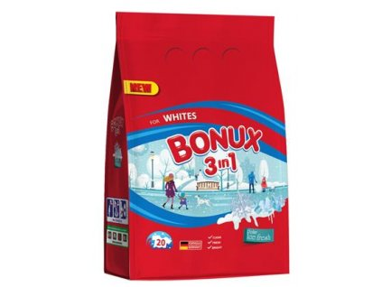 Bonux prací prášek White Polar Ice Fresh 20 PD/1,5kg