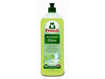Frosch Balzám pro mytí nádobí Citrón (EKO, 750ml)