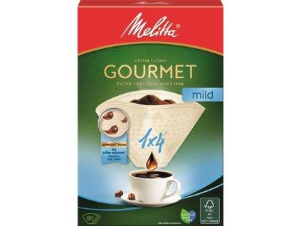 Melitta Filtry Gourmet mild 1x4/80