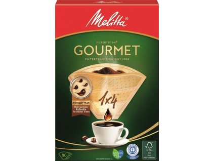 Melitta Filtry Gourmet 1x4/80