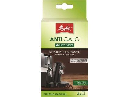 Melitta ANTI CALC Práškový bio-odvápňovač pro espresso a kapslové kávovary (4x40g)