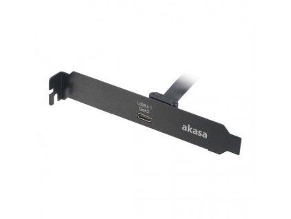 Akasa záslepka s konektorem USB 3.1 gen2 USB-C