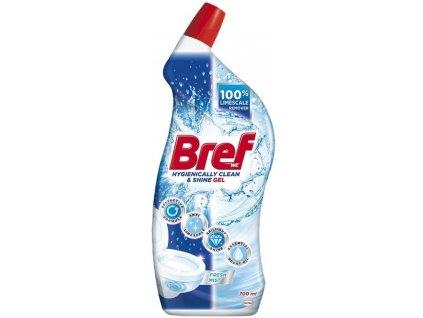 Bref WC čistič Hygiene Gel Fresh 700ml
