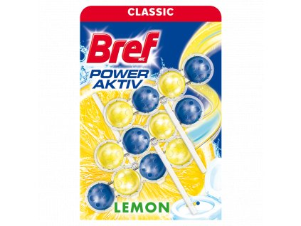 Bref WC blok Power Active Lemon 3x50g