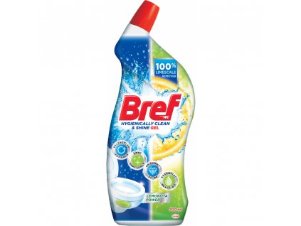 Bref WC čistič Hygiene Gel Lemonita 700ml
