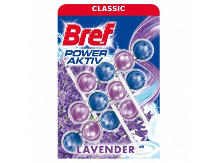 Bref WC blok Power Active Lavender 3x50g