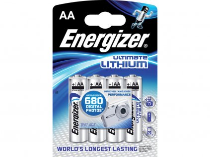 Energizer Ultimate Lithium AA 1.5V lithiová  4ks