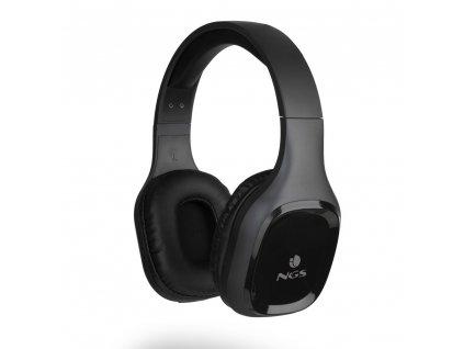 NGS BT sluchátka Artica Sloth, černá