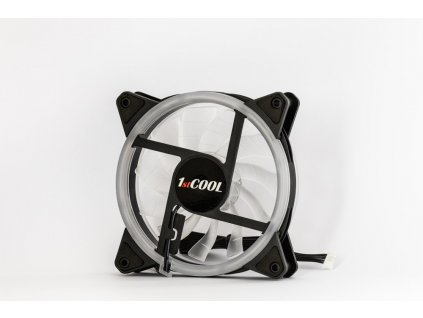 1stCOOL AURA RAINBOW Dual Ring ARGB ventilátor 12cm