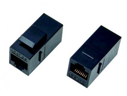DATACOM Panelová spojka UTP CAT5E 2xRJ45 (8p8c) přímá