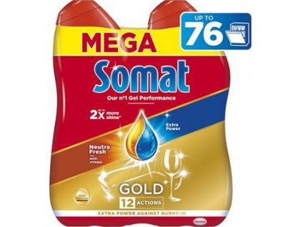 Somat gel do myčky Gold Neutra Fresh 2x684ml (76 dávek)