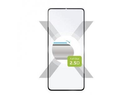 Fixed ochranné tvrzené sklo Full-Cover pro Huawei Y6p, černé