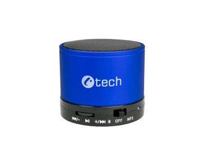 C-TECH SPK-04L Bluetooth reproduktor, modrý