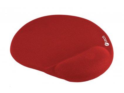 C-TECH MPG-03, gelová podložka pod myš, červená