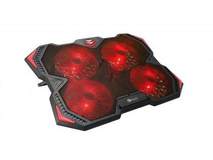 C-TECH Zefyros (GCP-01R), červené podsvícení