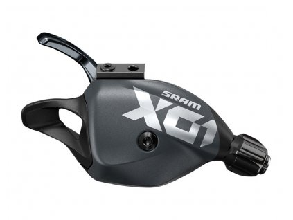 SRAM X01 Eagle trigger - řazení 12 rychl. + objímka, Lunar polar (grey)