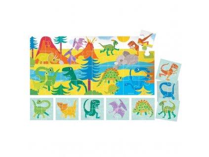 HEADU: Puzzle 8+1 Dinosauři