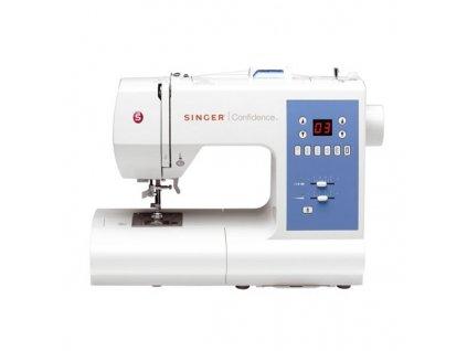 SINGER 7465 Confidence šicí stroj, 50 druhů zboží, LCD displej, elektronické řízení