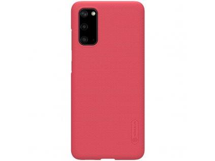 Nillkin Super Frosted Zadní Kryt pro Samsung Galaxy S20, Red - červený