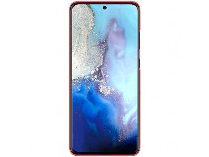 Nillkin Super Frosted Zadní Kryt pro Samsung Galaxy S20 Ultra, Red - červený