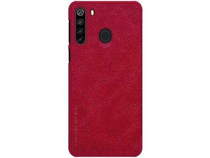 Nillkin Qin Book Pouzdro pro Samsung Galaxy A21, Red - červené