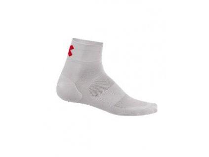 Kalas ponožky nízké RIDE ON Z bílé/červená 43-45