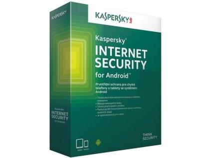 Kaspersky Internet Security Android, 1 zařízení, 1 rok, obnovení licence, elektronicky