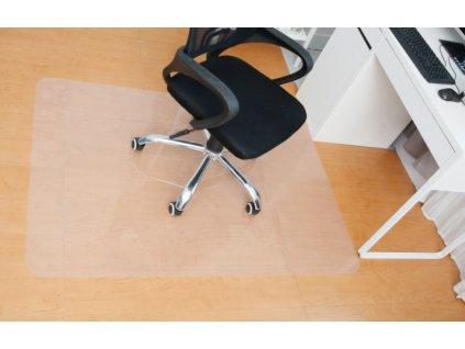 GoodJump podložka pod kancelářkou židli 140x100 cm - mléčná barva