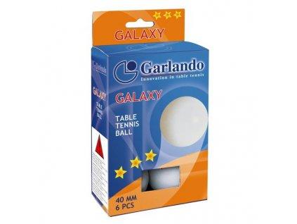 Garlando Míčky Galaxy na stolní tenis, hvězdiček: 3, balení 6 kusů