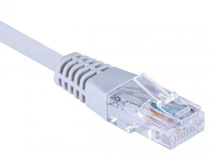 Masterlan comfort patch kabel UTP Cat5e,10m,šedý