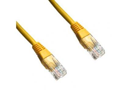 PATCH KABEL Patch kabel UTP CAT6 0.5m žlutý