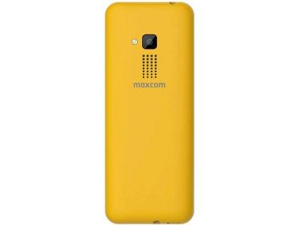 MaxCom MM139 žlutý
