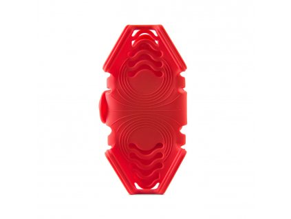 """BONE držák na kolo pro mobil 4-6.5"""", Bike Tie Pro Pack - Red"""