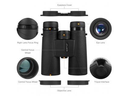 Apeman Binocular BC100, 10x42 dalekohled