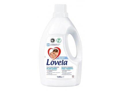 Lovela Baby tekutý prací přípravek na bílé prádlo 1,45 l / 16 pracích dávek