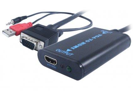 UNIBOS UNVH-100 VGA + Audio na HDMI
