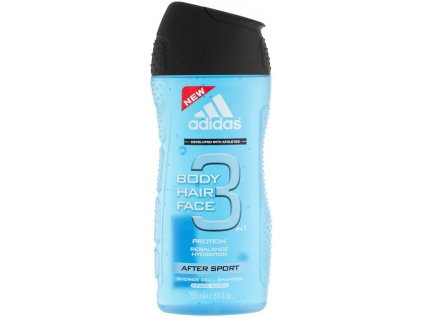 Adidas 3in1 After Sport Perfumed Shower Gel 250 ml