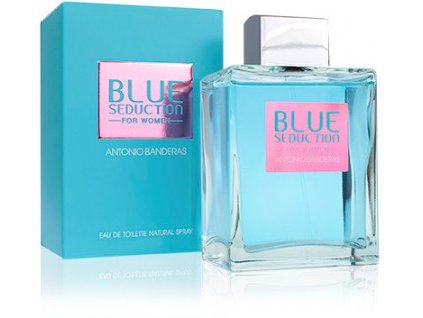 Antonio Banderas Blue Seduction For Women EdT 200ml